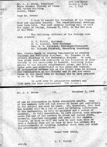 HGMS Formation letter